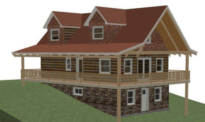 Hillside House Plans Walkout Basement New Plan