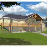 Hillside Sloped Lot House Plans Home Design Style