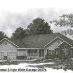 Hip Roof Ranch Stall Garage House Building Plans