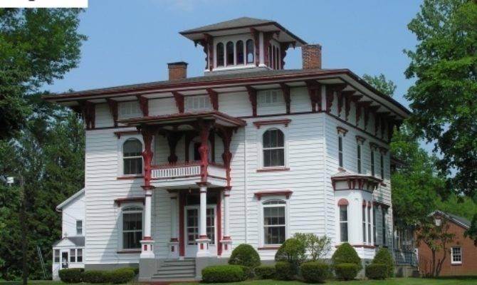 Historic Buildings Connecticut Picturesque Houses