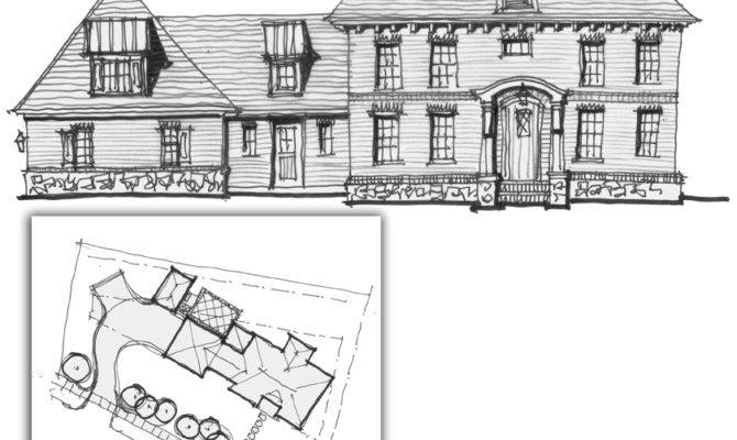 Historic Infill House Plans Design