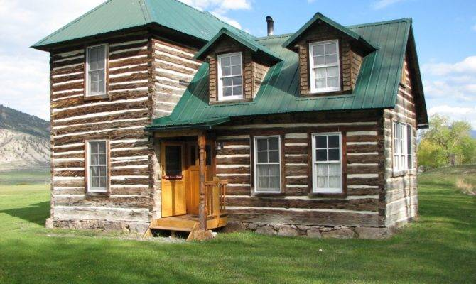 Historic Log Cabin Story Hand Hewn Next