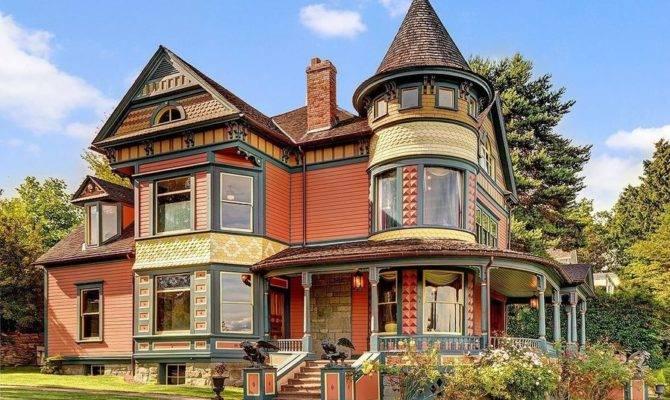 Historic Victorian Homes Market Washington
