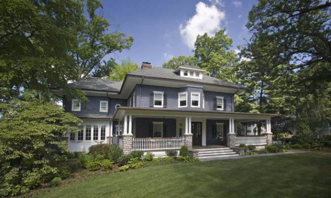 Historical Four Square Large Front Porch