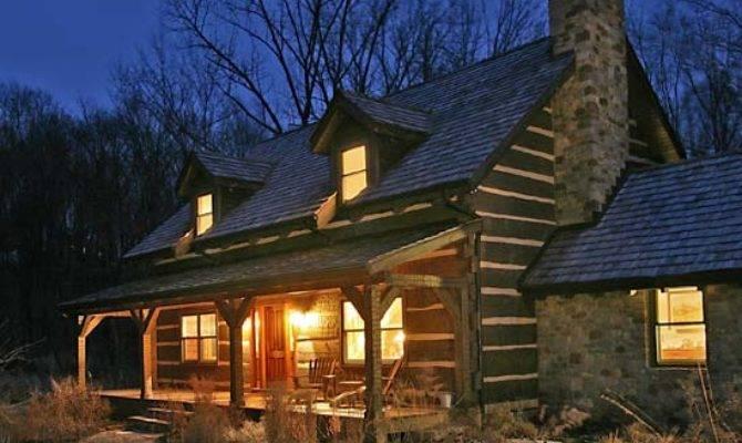 History Repeats Craftsman Style Log Home Pennsylvania