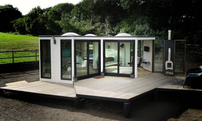 Hivehaus Hexagonal Modular Living Spaces Barry Jackson