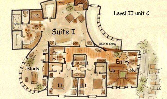 Hobbit House Floor Plans Fantasy Plan Hansel