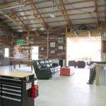 Hobby Garage Interior Cypress Texas Morton Buildings