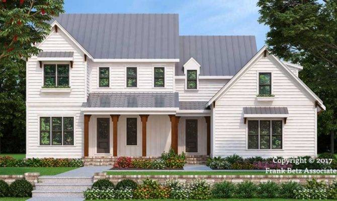 Holston Farm House Floor Plan Frank Betz Associates