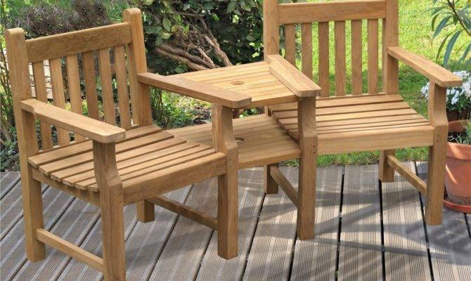 Home All Garden Chairs Taverners Teak Jack Jill Seat