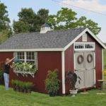 Home Amish Colonial Williamsburg Garden Shed Kit Choose