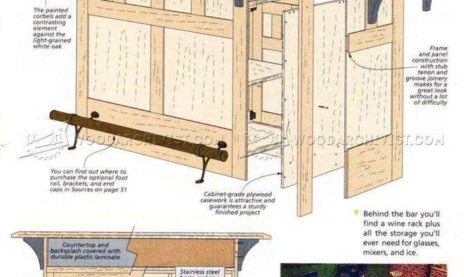 Home Bar Plans Woodarchivist