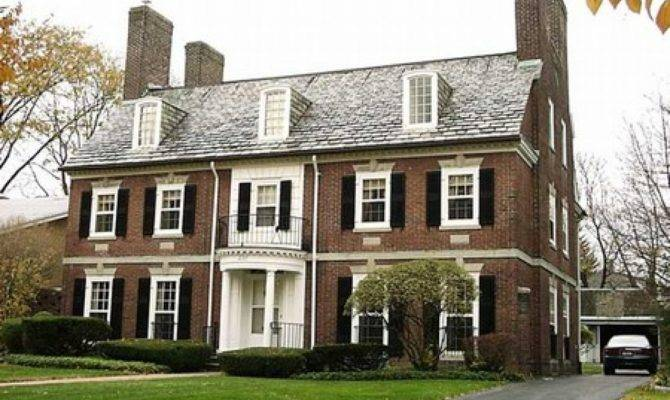 Home Brick Colors French Colonial Style Homes