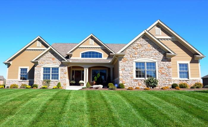 Home Builders Single Story Custom Homes One Floor Plans Home Plans Blueprints 45824