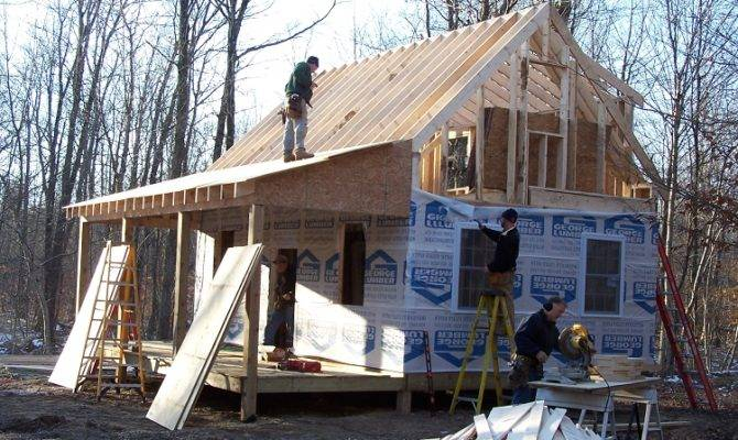 Home Cabin Plans Adirondack Loft Construction