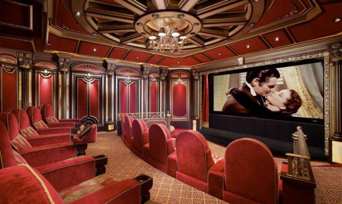 Home Cinema Interior Designs