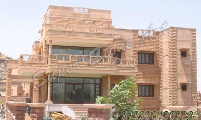 Home Design Building Style Jodhpur Stone House