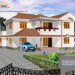 Home Design Elevation Designs House Renderings Kerala New