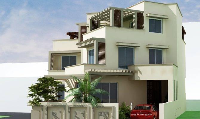 Home Design Front Elevation Modern House
