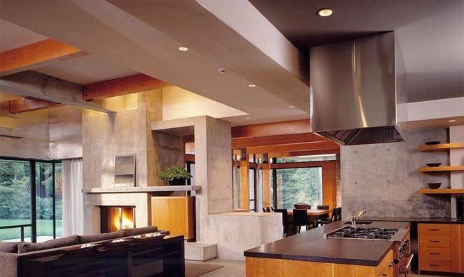 Home Design Interior Northwest Contemporary House