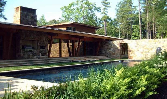 Home Design Modern Stone House
