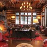 Home Design Rustic Mountain Lodge Ideas Signal