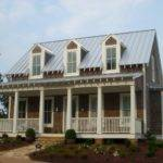 Home Designed Mitch Ginn Cedar Shake Cottage Metal Roof