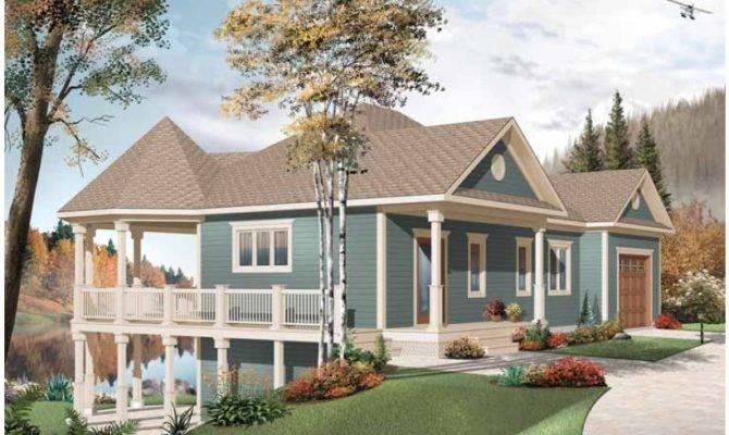 Home Designs Lakefront Plans Related
