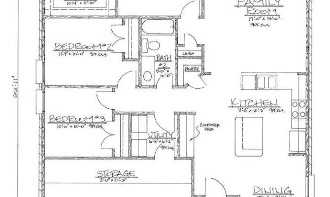 Home Floor Plans Under Deco