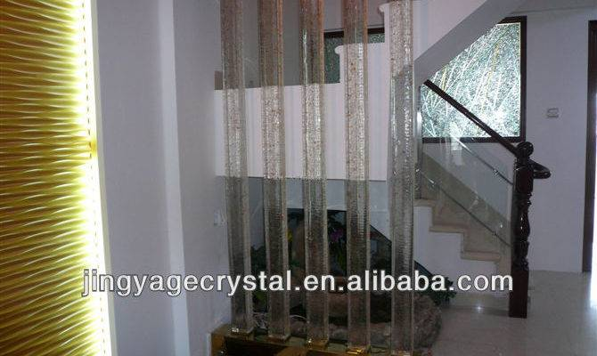 Home Glass Pillars House Decoration