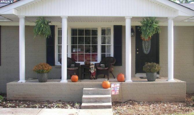 Home Ideas Small Front Porch Outdoor Lights Back Deck