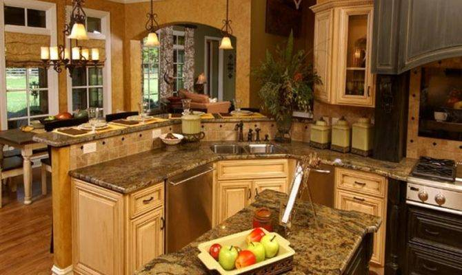 Home Kitchen Open Designs Ideas Classic