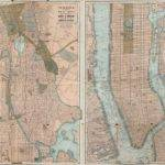 Home Life Map New York City Manhattan