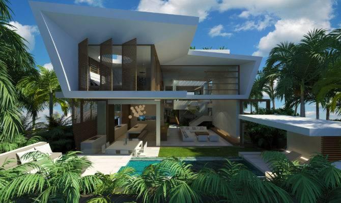 Home Modern Beach House