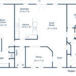 Home Needs Some Modification But Good Basic Plan