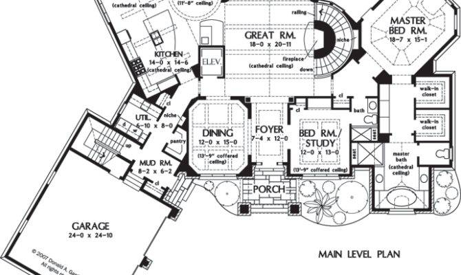 Home Plan Clubwell Manor Donald Gardner Architects