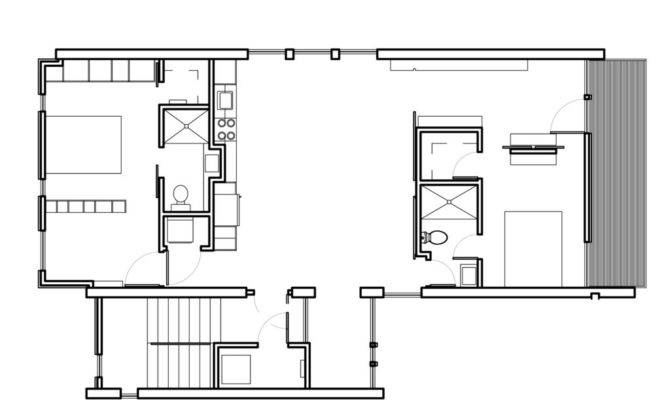 Home Plan Designs Small Modern House Plans One Floor