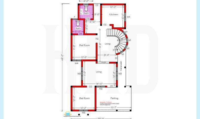 Home Plan Elevation Architecture House Plans