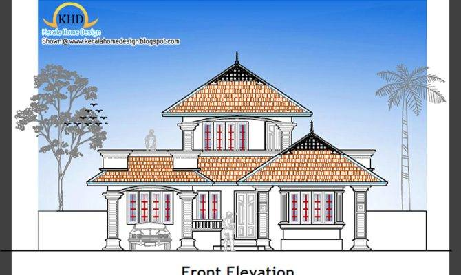 Home Plan Elevation Kerala Design Floor