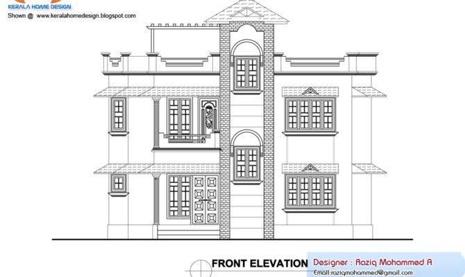 Home Plan Elevation Kerala House Design Idea