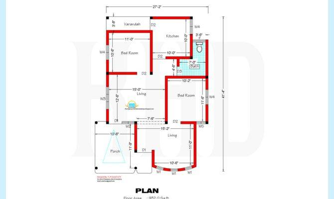 Home Plan Elevation Kerala