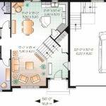 Home Plan Floor First Story