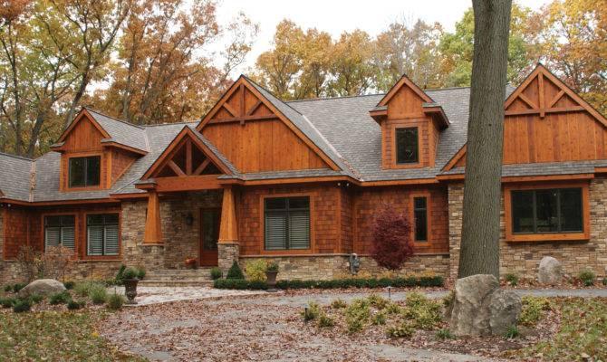 Home Plan Rustic Craftsman Startribune