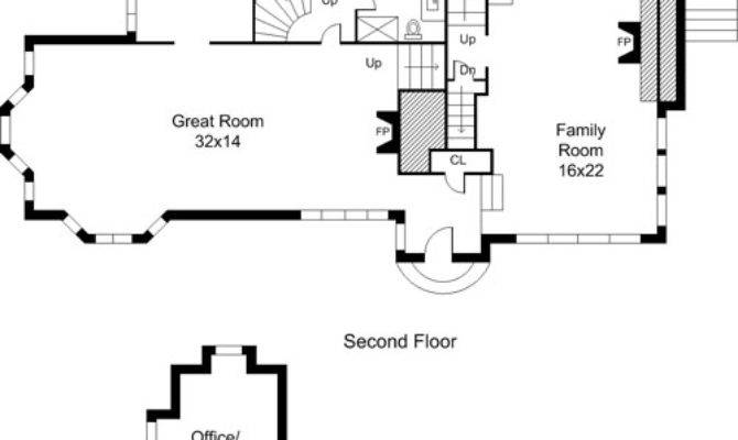 Home Plans Center Hall Colonial House