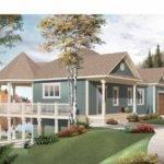 Home Plans Designs Rock Climbing Wall Plan Narrow Lot