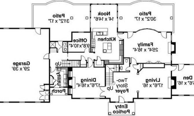 Home Plans Floor Plan Modern House Guy Single