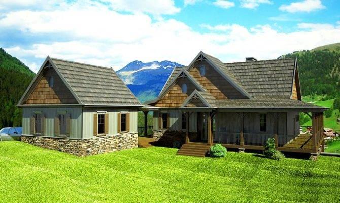 Home Plans Mountain House Plan