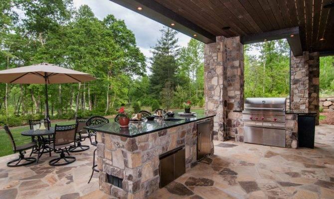 Home Plans Outdoor Kitchen