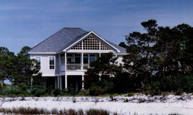 Home Plans Raised Beach House Style Designs