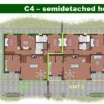 Home Plans Semi Detached Floor